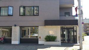 sakura-s9ビルの入り口